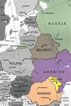 Cartina Europa Orientale Fisica.Bats Web La Geografia Del Bats Europa Orientale