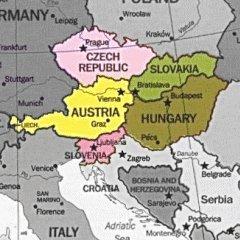 Europa Centrale Cartina Politica.Bats Web La Geografia Del Bats Europa Centrale