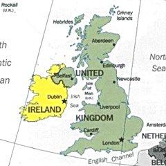 Immagini Della Cartina Della Gran Bretagna.Bats Web La Geografia Del Bats Gran Bretagna