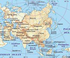 Cartina Politica Del Libano.Bats Web La Geografia Del Bats Asia