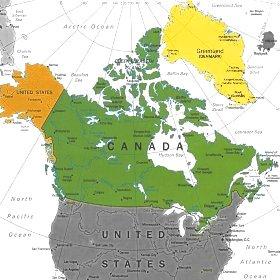 Il canada e l'america settentrionale